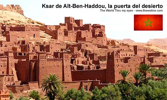 Ksar de Aït-Ben-Haddou, la puerta del desierto - ouarzazate marruecos - Ksar de Aït-Ben-Haddou, la puerta del desierto
