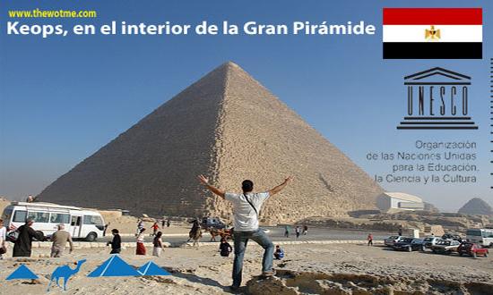 keops, en el interior de la gran pirámide - keops el cairo - Keops, en el interior de la Gran Pirámide