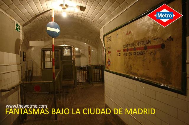 Fantasmas bajo la ciudad de Madrid - estacion chamberi madrid - Fantasmas bajo la ciudad de Madrid
