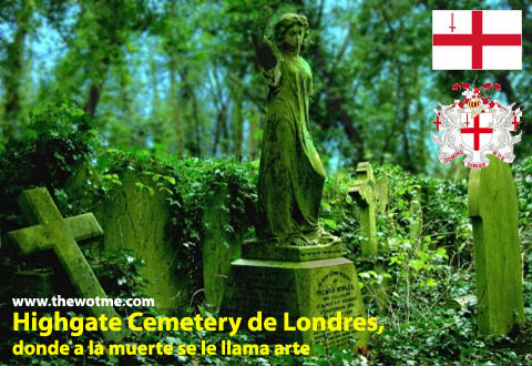 highgate cemetery de londres, donde a la muerte se le llama arte - highgate cemetery londres - Highgate Cemetery de Londres, donde a la muerte se le llama arte