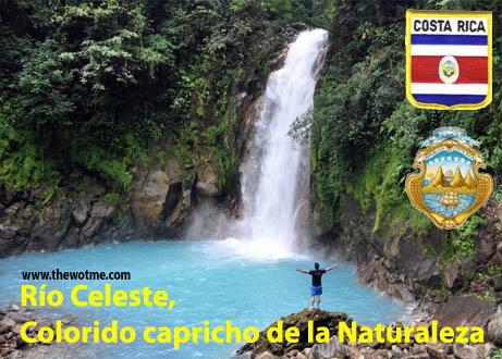 río celeste, colorido capricho de la naturaleza - rio celeste costa rica - Río Celeste, Colorido capricho de la Naturaleza