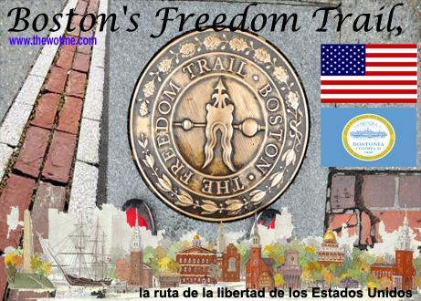 boston's freedom trail, la ruta de la libertad de los estados unidos - boston freedom trail - Boston's Freedom Trail, la ruta de la libertad de los Estados Unidos
