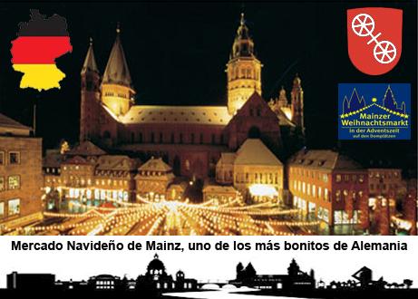 Mercado navideño de Mainz, uno de los más bonitos de Alemania - mercado navidad mainz - Mercado navideño de Mainz, uno de los más bonitos de Alemania