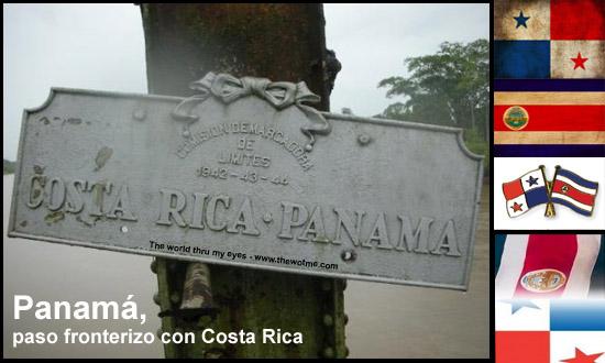 paso fronterizo con costa rica - fronteras costa rica panama - Panamá, paso fronterizo con Costa Rica