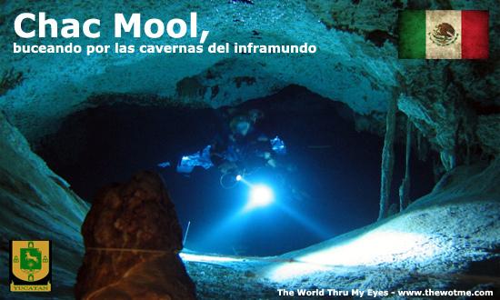 Chac Mool, buceando por las cavernas del inframundo - chac mool mexico - Chac Mool, buceando por las cavernas del inframundo