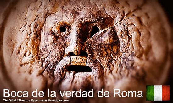 Boca de la verdad de Roma - boca verdad roma - Boca de la verdad de Roma