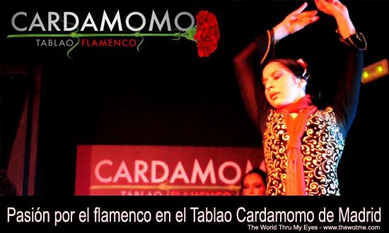 Pasión por el flamenco en el tablao Cardamomo Pasión por el flamenco en el Tablao Cardamomo de Madrid - cardamomo - Pasión por el flamenco en el Tablao Cardamomo de Madrid