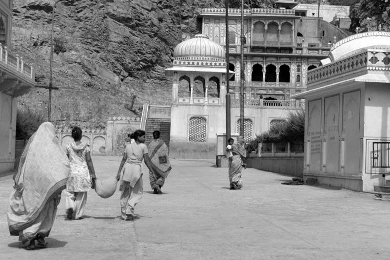 Galwar Bagh, el templo de los Monos de Jaipur - templomonos - Galwar Bagh, el templo de los Monos de Jaipur