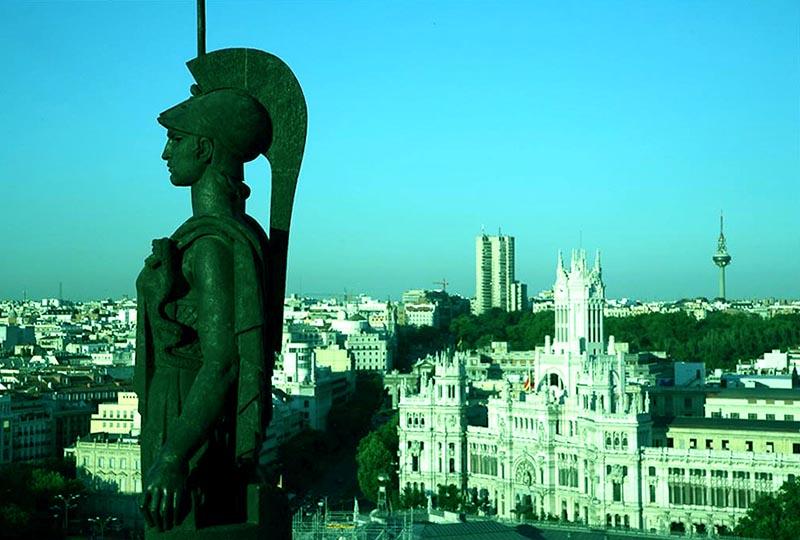 azotea del círculo de bellas artes de madrid, oasis en el cielo - azotea circulo madrid - Azotea del Círculo de Bellas Artes de Madrid, oasis en el cielo