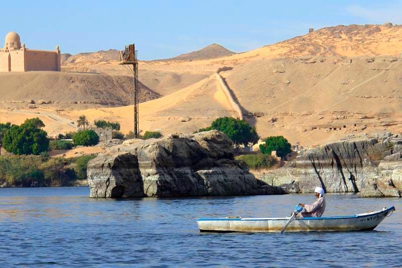 Templos a la orilla del río Nilo en Egipto - egipto - Templos a la orilla del río Nilo en Egipto