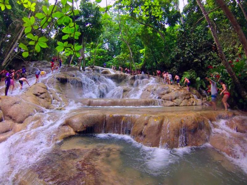 dunn's river falls - dunns river falls jamaica 800x600 - Dunn's river falls de Jamaica
