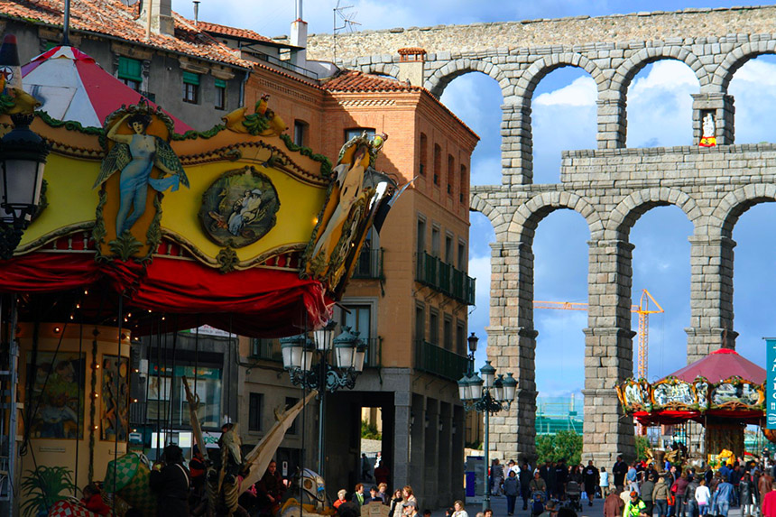 qué ver en Segovia, España