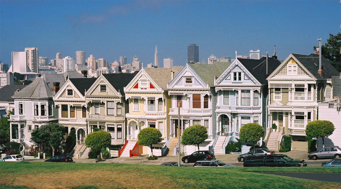 que ver en san francisco - painted ladies san francisco 1160x643 - 10 lugares mágicos que ver en San Francisco, California