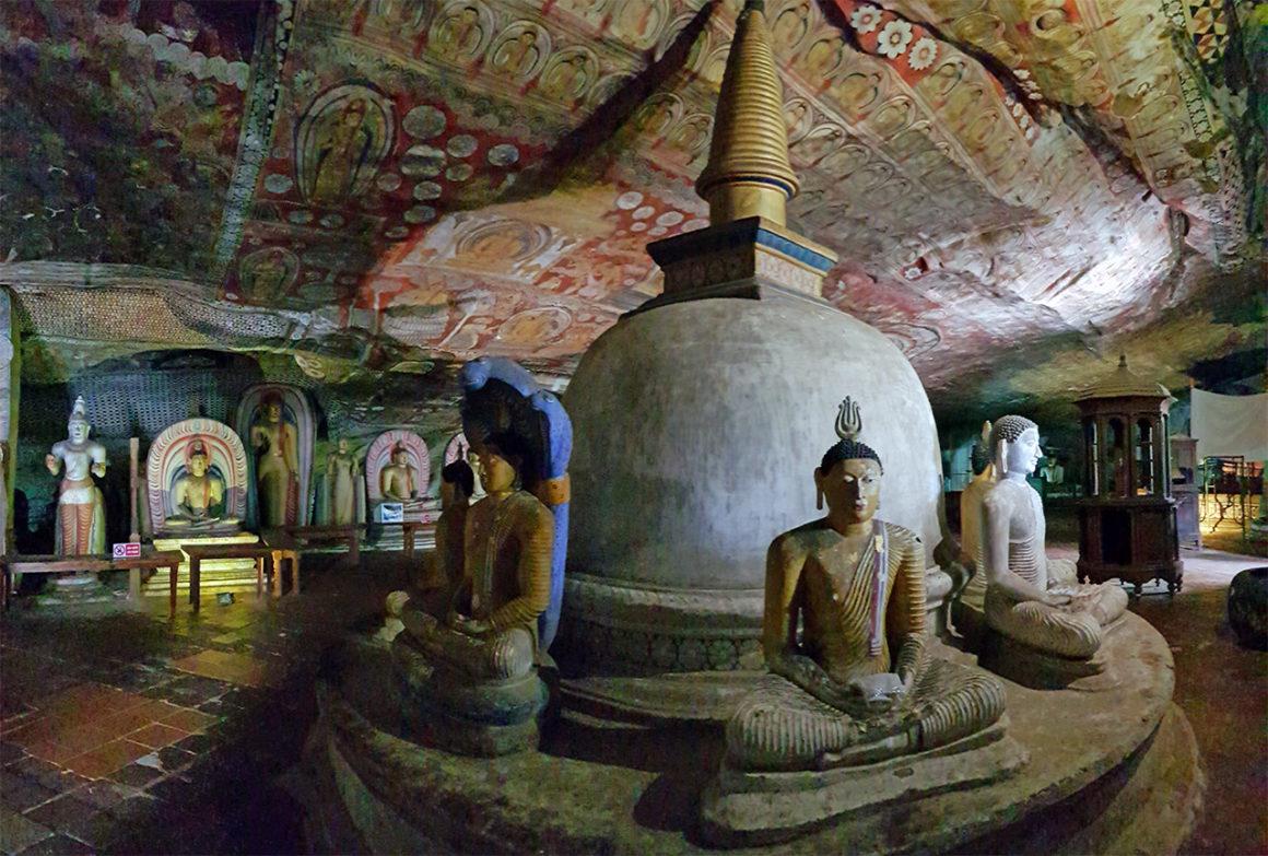 templo de oro de dambulla - portada dambulla templo de oro golden temple sri lanka 1160x783 - Cuevas y Templo de Oro de Dambulla