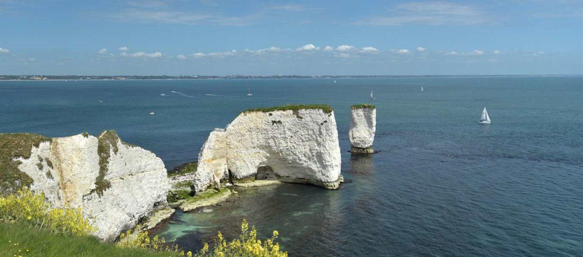 costa jurásica - old harry rocks 1160x511 - Costa Jurásica de Inglaterra, un viaje de millones de años